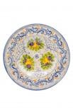Piatto ceramica artistica – Autunno A3